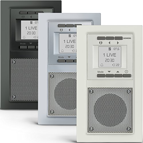 ii ii siemens unterputz radio extras info top 5. Black Bedroom Furniture Sets. Home Design Ideas