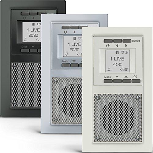 ii ii siemens unterputz radio extras info top 5 bestseller. Black Bedroom Furniture Sets. Home Design Ideas