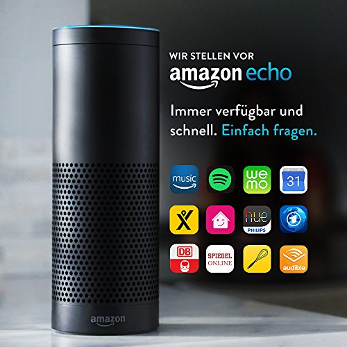 Amazon Echo, Alexa Schwarz