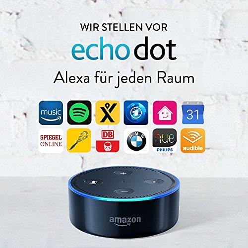 Amazon Echo Dot Alexa 2. Generation Schwarz