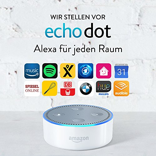 Amazon Echo Dot Alexa (2. Generation), Weiß
