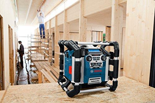 ii ii bosch professional akku baustellenradio gml 50 test steckdosenradio kaufen. Black Bedroom Furniture Sets. Home Design Ideas