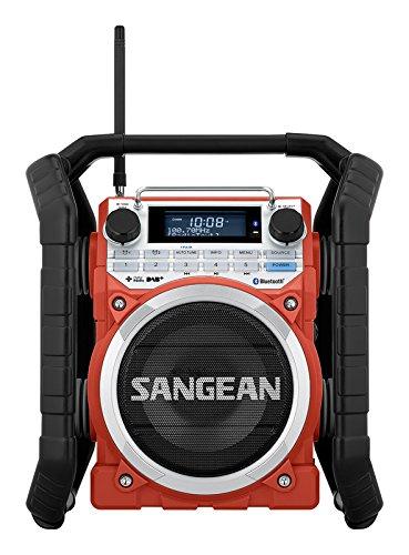 Sangean U4DBT tragbares DAB+ Baustellenradio