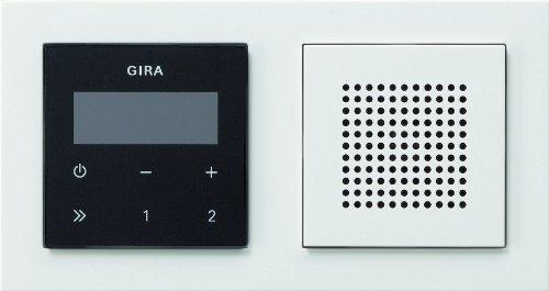 Gira 049572 Unterputz Radio RDS mit E2 Rahmen