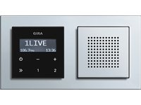 Gira 228003 Unterputz Radio RDS System 55