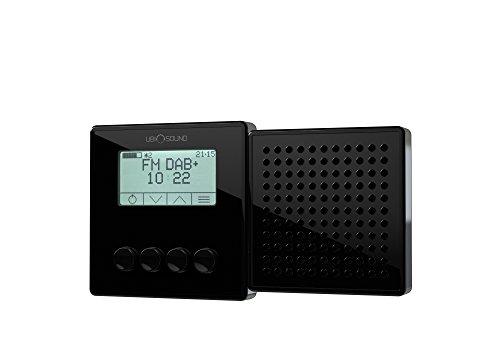 Ubisound portables Steckdosenradio DAB + Digitalradio UKW Radio schwarz