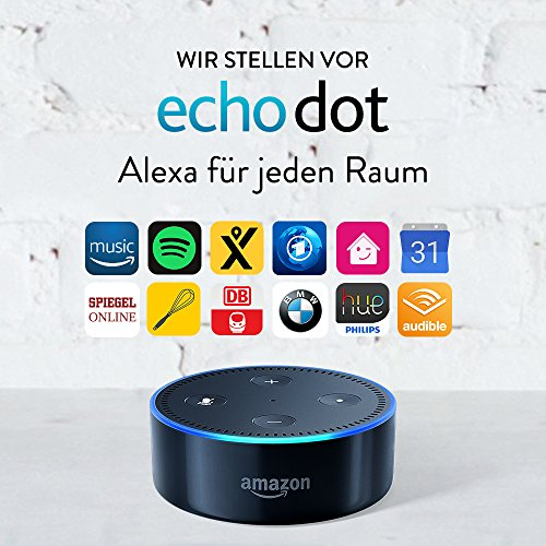 Amazon Echo Dot Alexa 2. Generation Schwarz