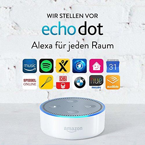 Amazon Echo Dot Alexa (2. Generation), Weiß