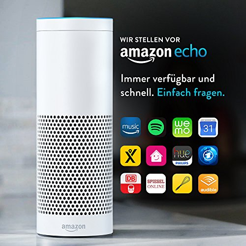 Amazon Echo Weiß – Alexa
