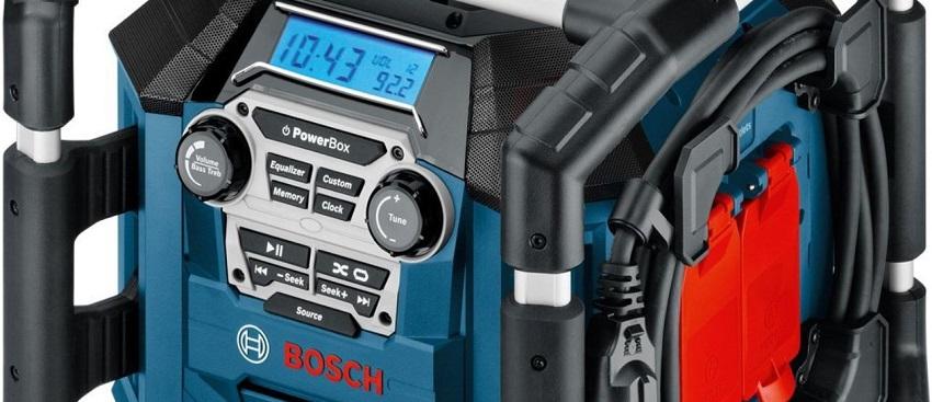 Baustellenradio Bosch, Makita