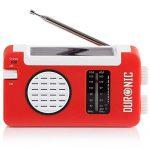 Duronic Hybrid Kurbel Radio - Polizeifunk