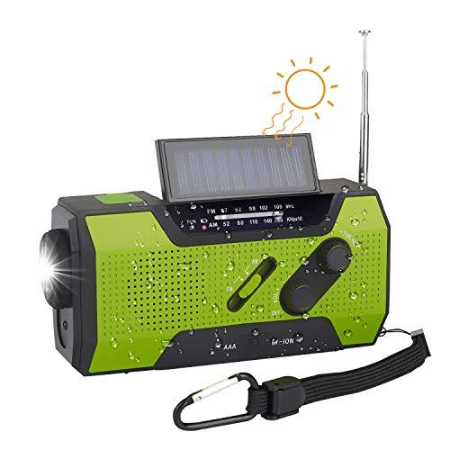 Solar Dynamo Kurbel Radio Tragbares Notfallradio SOS Signal